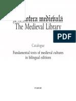 Catalog Biblioteca Medievala