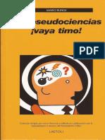 Las Pseudociencias ¡Vaya Timo! - M. Bunge