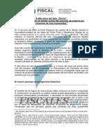 20150612 Informe Procuraduría de Crímenes Contra La Humanidad