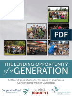 The Lending Opportunity of a Generation