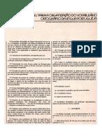 Vocabulario Ortografico Da Lingua Portuguesa 1943