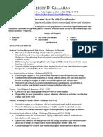 callahan resumecompleteeducation