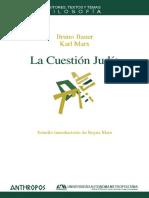 Marx , K. La Cuestión Judía. Anthropos, 2009.