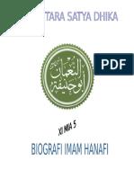 Imam Hanafi Biografi Tugas