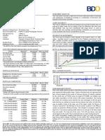 BDO Peso Fixed-Income Fund (1st Quarter 2010)