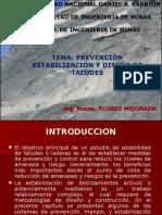 PREVENCIÓN ESTABILIZACIÓN Y DISEÑO DE TALUDES.ppt