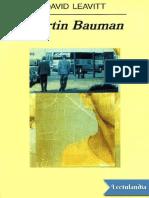 Martin Bauman - David Leavitt