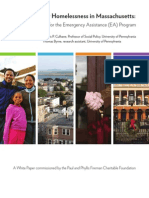 Ending Family Homelessness in Massachusetts