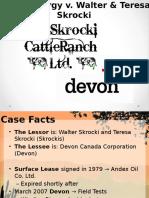 Blaw Devon v. Skrockis Assignment