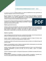 Términos y Referencias Concurso Iniciativas Empresariales 2015