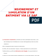 DIMMENSIONEMENT ET SIMULATION D'UN BATIMENT VIA LE SAP.pptx