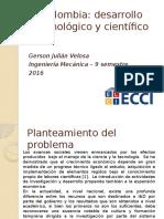 Avance Tecnológico y Científico en Colombia