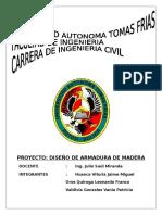 PROYECTO de Maderas