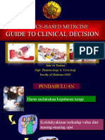 Evidence-Based Medicine, Guide to Clinical Decision