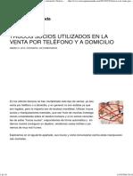Trucos Sucios Utilizados en La Venta Por Teléfono y a Domicilio _ Solosequenosenada