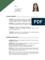 Curriculum Vitae - POLIANA de LIMA SILVA (Tingui-botó)