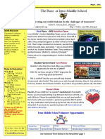 Newsletter 5-9-16