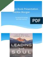 leadership book presentation educational principalship debbie morgan