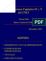 Modificación Cap.iv y v Del CNCI
