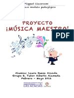 PROYECTO FLIPPED. MÚSICA MAESTRO