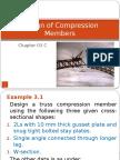 Design of compression members-3