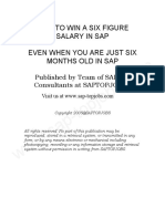 How to Win a Six Figure Salary