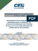 ind 002.2013 - liberacao de linhas de distribuicao para execucao de trabalhos de manutencao.pdf