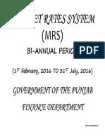 MRS Rates