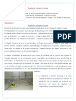 Destilación a Presión Reducida
