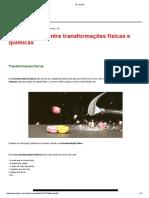 f.q Transformações
