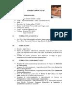 CV Practicante Pre Profesional