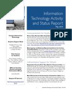 May 2010 IT Status Report