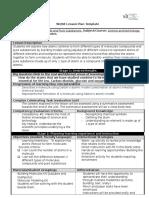 lesson plan- evaluation