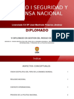 Modulo i Seguridad y Defensa Nacional -Vi Diplomado- Sesion 01- Caen