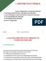 Chp IV Les Mesures Electriques