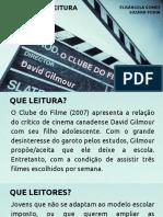 Clube Do Filme - Apresentação