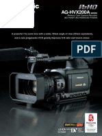 Brochure Panasonic HVX200