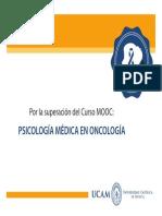 Psicología Médica en Oncología