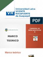 Presentación Marco Teorico 2016