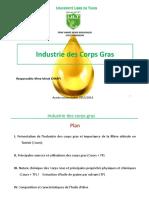Cours Industrie Des Corps Gras