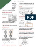 cumulative test study guide key