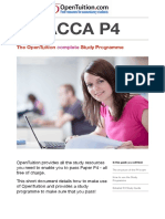 ACCA P4 Study Guides