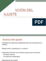 Evaluación Del Ajuste y Defensas