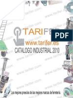 Catalogo Industrial Tarifer