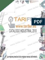 Catalogo Industrial Tarifer