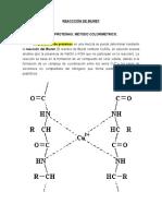 Guias 6a - Reacción de Biuret (Fundamento y Procedimiento - Separata)