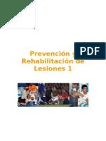 Prevención y Rehabilitación de Lesiones 1