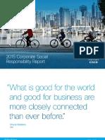 CSR Report 2015