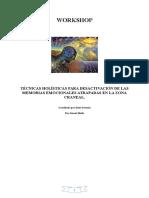 Técnicas Holísticas Para Desactivación de Las Memorias Emocionales Atrapadas en La Zona Craneal. Rosa
