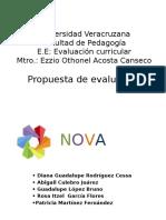 Diapositivas de Propuesta de Evaluación